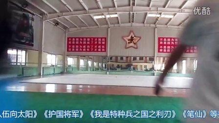 武术动作演员幕后训练视频
