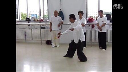 赵幼斌老师即兴表演51式杨氏太极剑