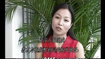 袁莎古筝教材视频-袁莎古筝考级视屏讲解 古筝基础49