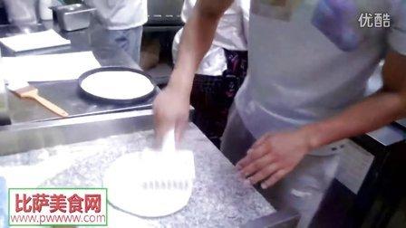 比萨的做法-手工披萨制作方法现场