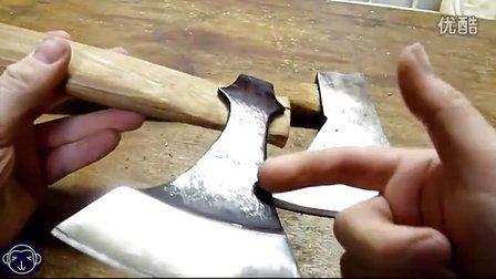 如何把普通斧头改造为维京斧头