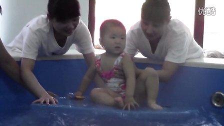 中国第六届婴儿游泳大赛预赛视频-望京分赛场33