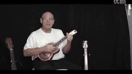 over the rainbow-蓝调ukulele演奏 resonator ukes-yinghow2011