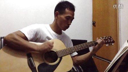 吉他独奏——万里长城永不倒(大侠霍元甲主题曲)