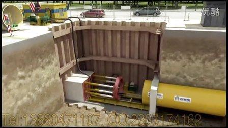 [广州柏维三维动画制作公司,非开挖道路工程施工原理动画赏析]