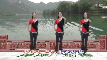 忻城县萍水相逢广场舞 玫瑰浪花