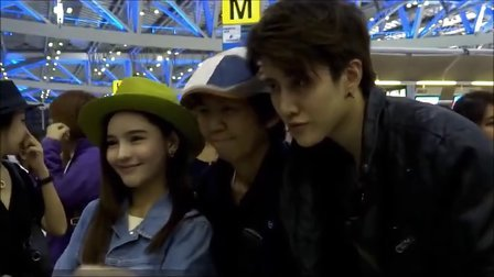 Mike&Aom - Heading to Korea for Full House Thai Shooting