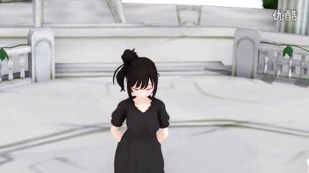 黑白莎莎啦【MMD】ハッピーシンセサイザ【さとうささら】