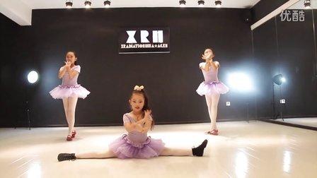 伊贝拉舞蹈少儿民族基础班成品舞展示 武汉青山专业少儿舞蹈培训