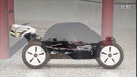 京商遥控车1:16小电越Mini Inferno视频。
