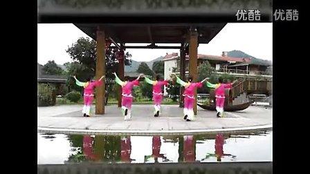 广场舞【留客歌】高清视频-舞之国广场舞教学网