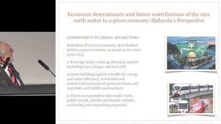 马来西亚科学院的Zaidee博士的稀土矿业演讲