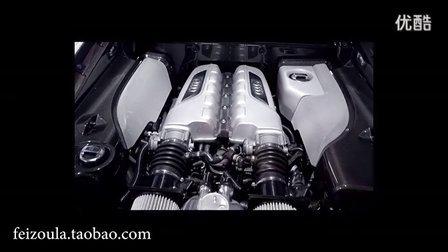 全新奥迪广告New Audi R8 V10 全新R8广告 奥迪声浪!