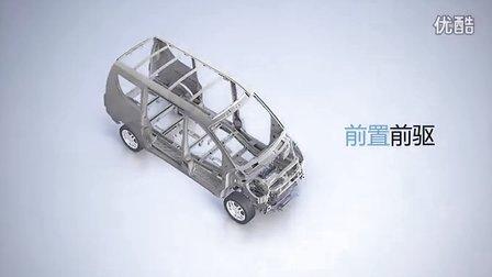 开瑞汽车优雅2代,非前驱、不商务