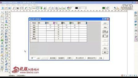 富怡服装CAD电脑打版视频教程 第三节.建立尺码表