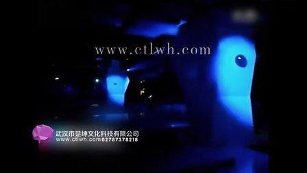 楚坤文化科技投影柱子027-66660808