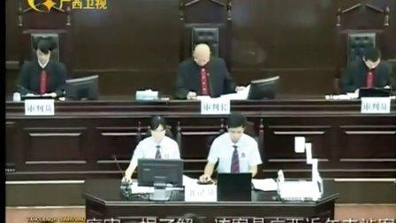 梧州市中级人民法院公开审理岑瑞意等63人重大罪案壮语新闻