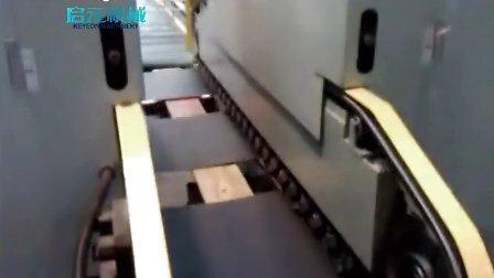 PVC地板修边倒角生产线视频