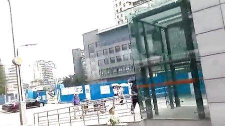 公交车上看成都20130731少陵路青羊宫