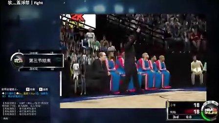 NBA2K_Online 荡海 常规赛最后一场 打快船
