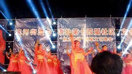 内蒙古乌海明珠广场舞《印度美女》