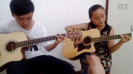 拥抱双吉他弹唱(吉他天地)