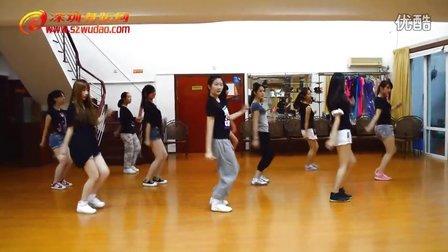福田区爵士舞暑假培训班学员课间练习《Easily》深圳舞蹈网
