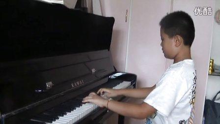 钢琴练习《半音阶练习曲》