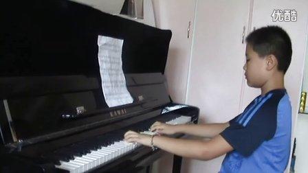 钢琴练习《布列舞曲》