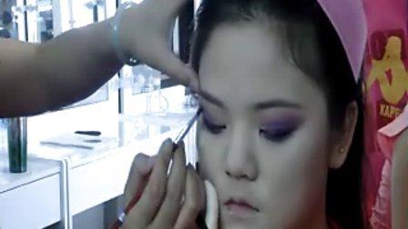 西安开化化妆学校,西安化妆学校,西安化妆培训学校,化妆培训
