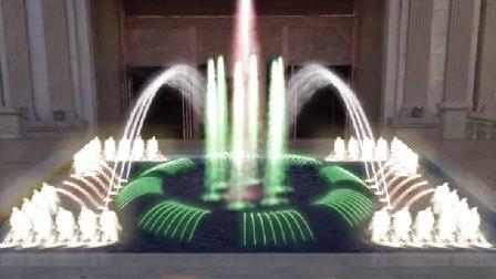 皇冠明珠酒店喷泉方案