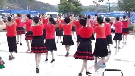 随州草店子社区健身队-唱着花儿的花儿 领队:爱舞