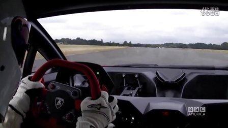 Stig 兰博基尼第六元素 跑圈车载视角 Top Gear 20季05集幕后片段