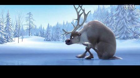 『心』迪士尼3D动画电影《冰雪皇后》搞笑预告片