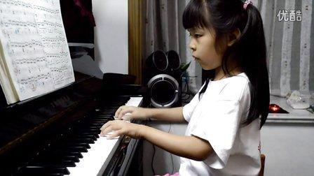 情情 弹钢琴 车尔尼849第20条