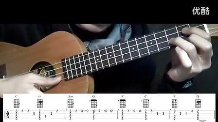 吉他教程 卡农 马叔叔 高清