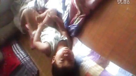 儿子在睡觉