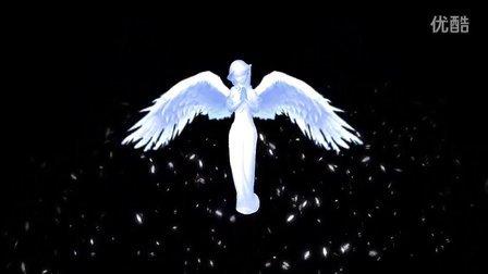 凯舟文化之光影秀026-天使的祝福