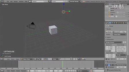 3D建模软件Blender基础教程2 - 操作界面