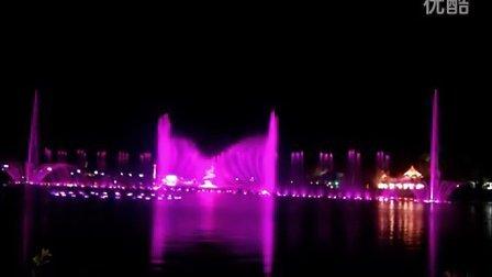 广东阳江鸳鸯湖音乐喷泉