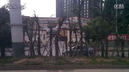 成都五桂桥至成渝高速收费站的一段(小米2拍摄)