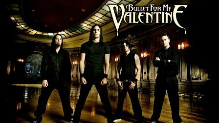 Bullet for my valentine 'Scream aim fire' 伴奏 backing track
