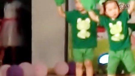 未来第三幼儿园小班舞蹈《小跳蛙》