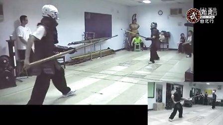 大槍友誼賽(八極拳協會台北分會,2013年7月19日)