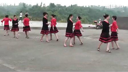 """快乐天天广场舞-花蝴蝶""""双人对跳"""""""