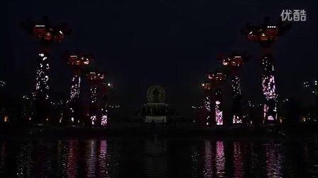 光影梦幻——西安大唐不夜城多媒体艺术景观柱展示