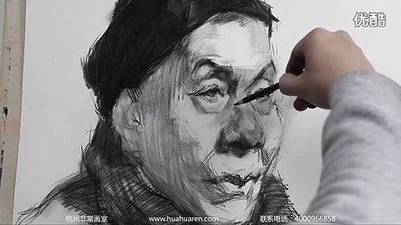 杭州非常画室-美术培训-李宪奇头像素描教程