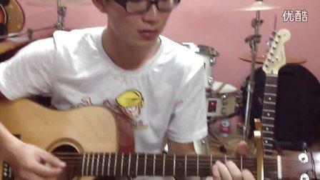 浙江衢州龙游魔音乐器学员ROTAS-YF418单板吉他弹唱