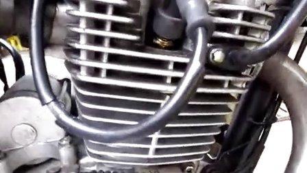 125摩托车汽缸哒哒响已调好气门,恢复如初。