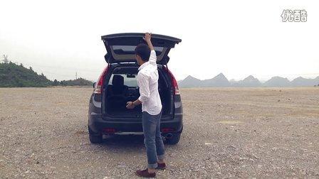 试驾2013款东风本田CR-V2.4L两驱豪华版-《并驾齐驱》04期